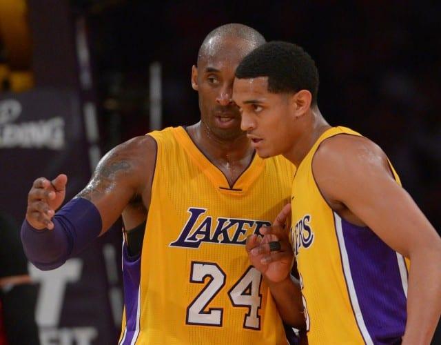 Kobe Bryant Jordan Clarkson Lakers