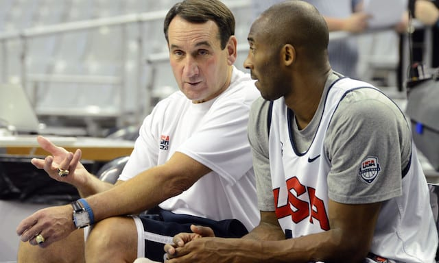 Kobe Bryant Coach K