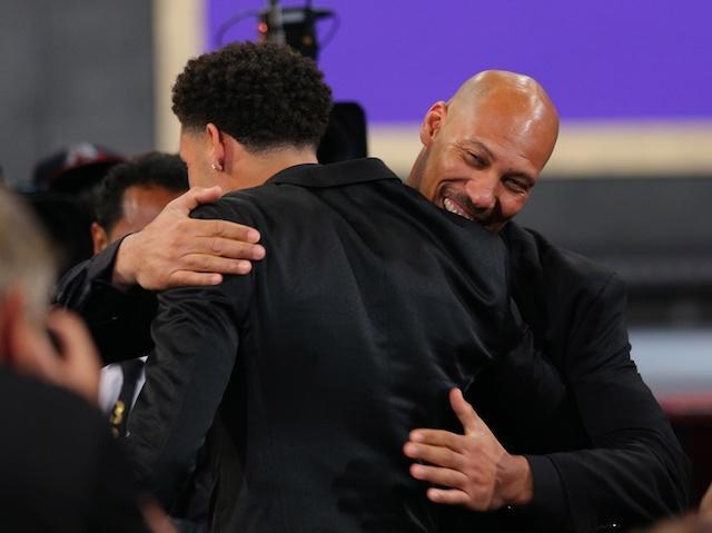LaVar Ball, Lonzo Ball, Lakers, NBA Draft