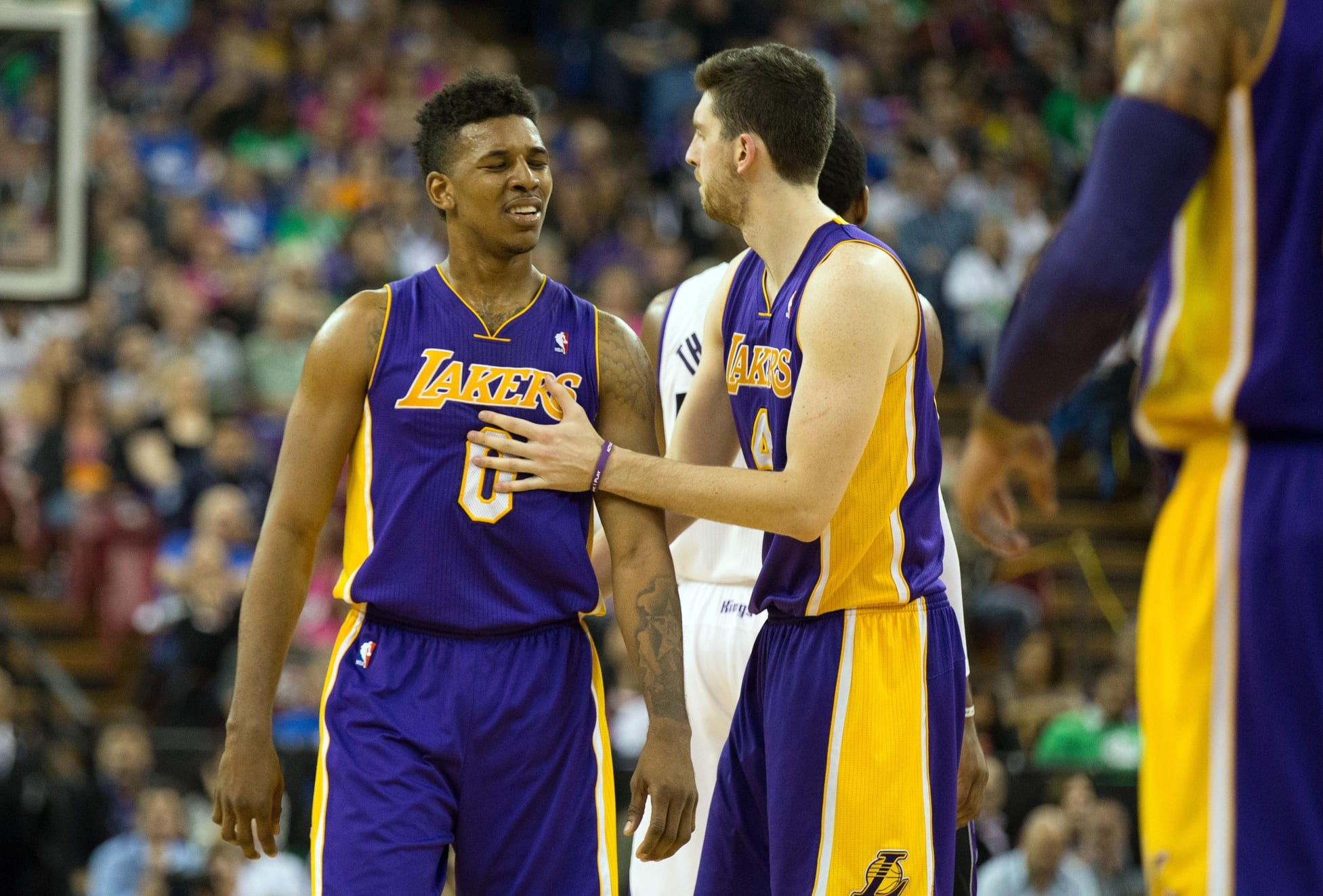 5314f352af3 Lakers Rumors: L.A. Exploring Trades For Nick Young, Robert Sacre, Ryan  Kelly
