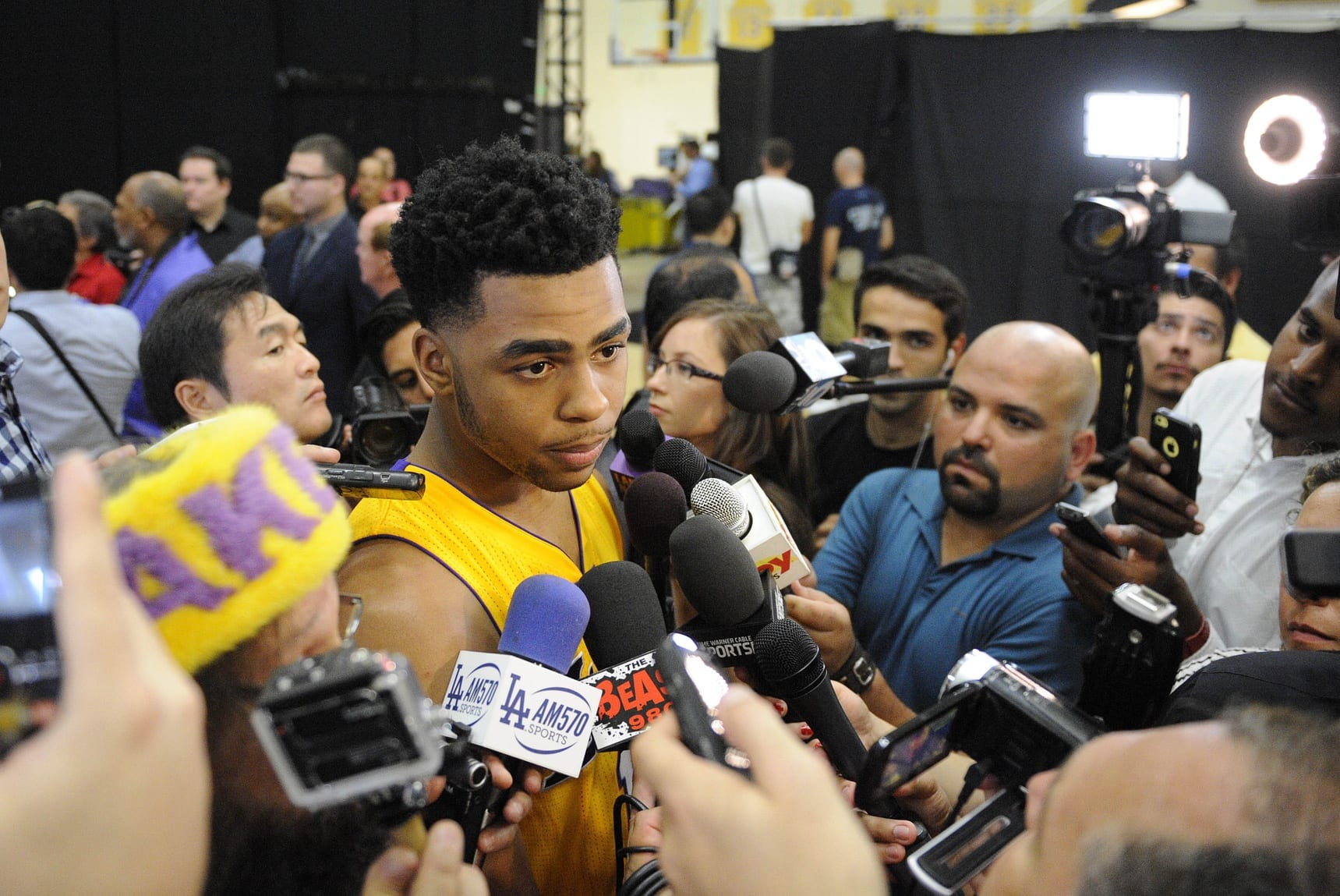 D'angelo Russell Updates On Glute Injury: 'i Wanted To Get Back Out There'