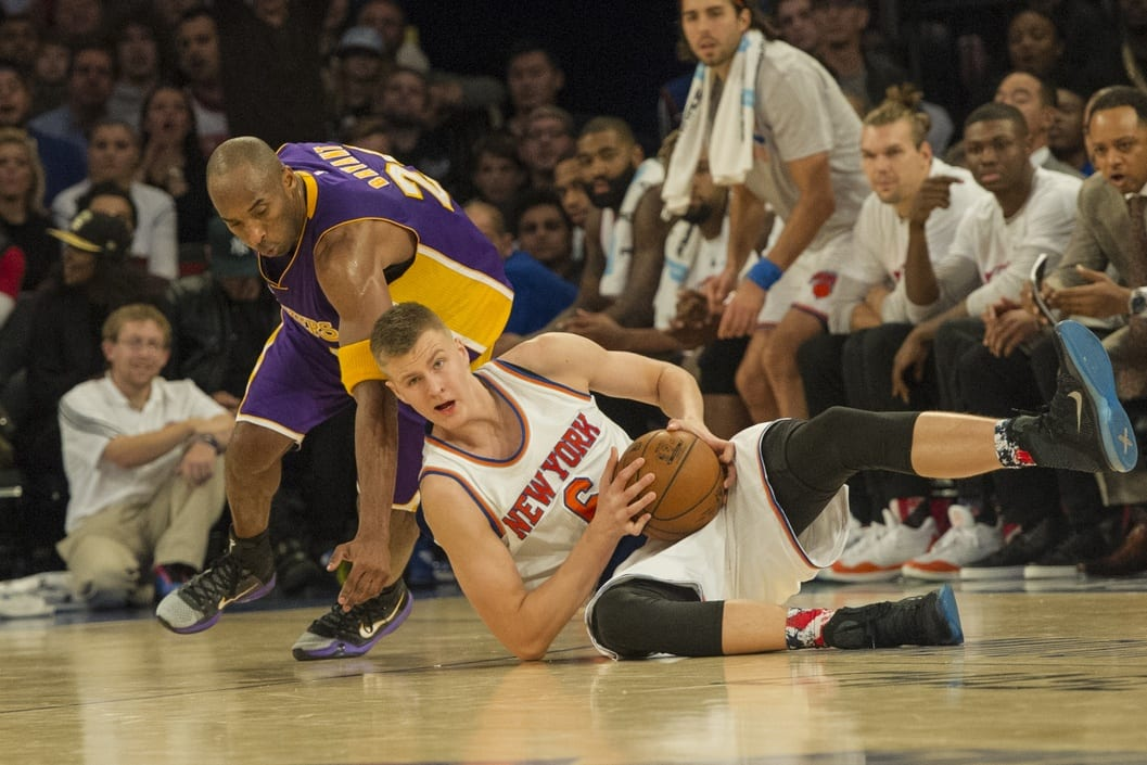 Kristaps Porzingis: 'my Favorite Player Growing Up Was Kobe Bryant'