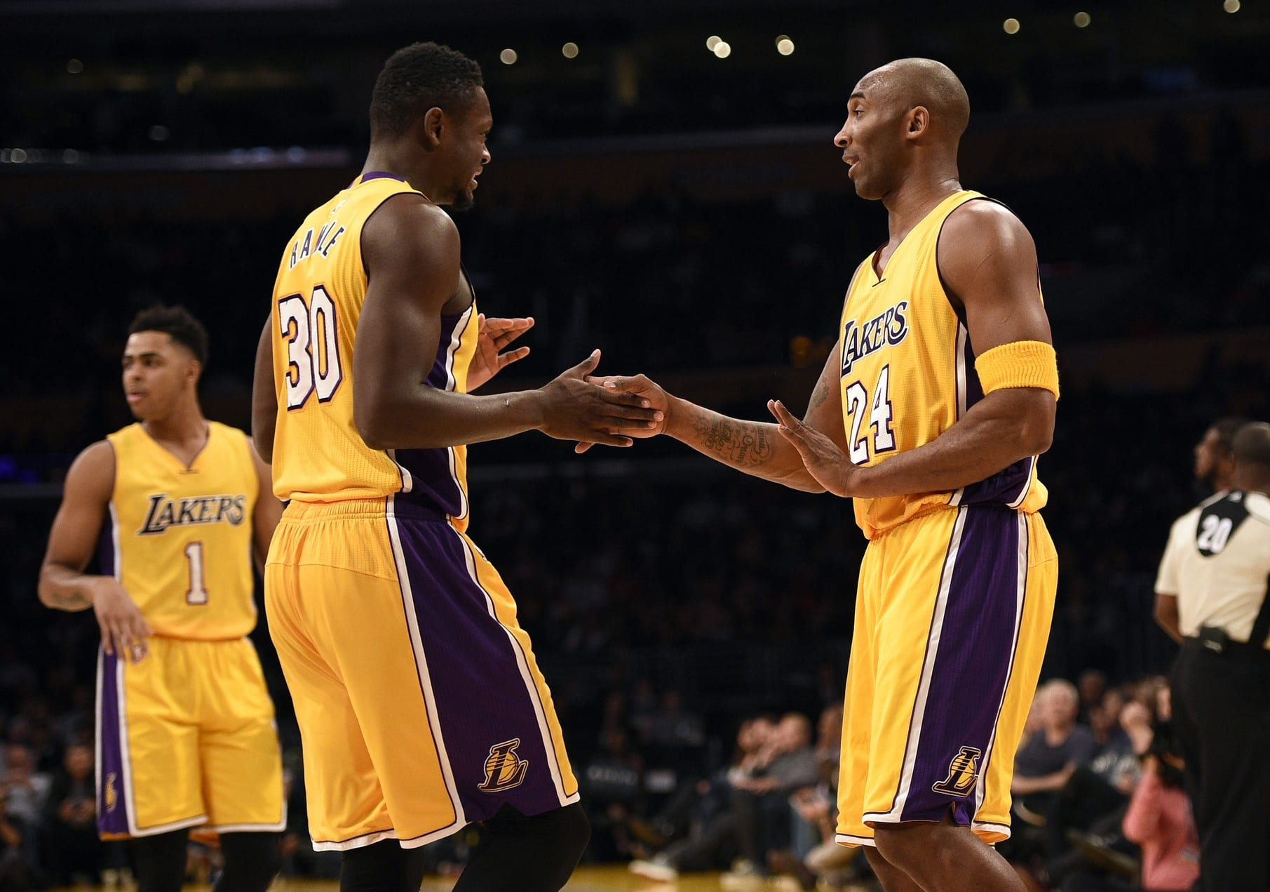 Kobe Bryant Julius Randle Lakers