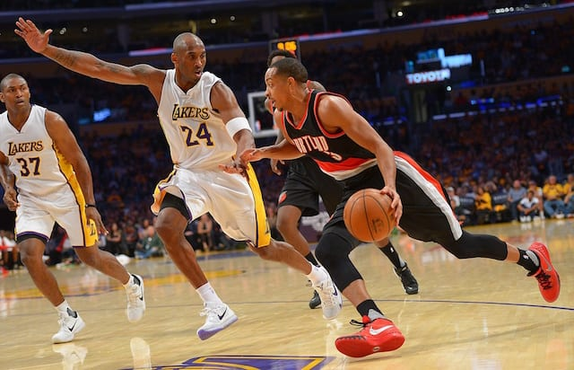 Cj Mccollum On Kobe Bryant: 'he's A Guy I've Looked Up To'