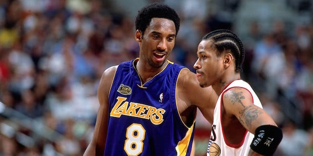 ec39db83d15 Shaquille O'Neal Blames Allen Iverson For Only Playoff Loss Lakers Suffered  In 2001