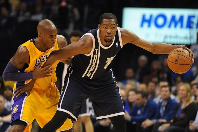 Kobe Bryant Wanted Competitive Edge Over Russell Westbrook, Kevin Durant In 2012