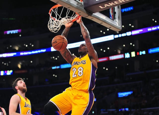 Lakers Rumors: Tarik Black Suffering From Minor Ankle Injury