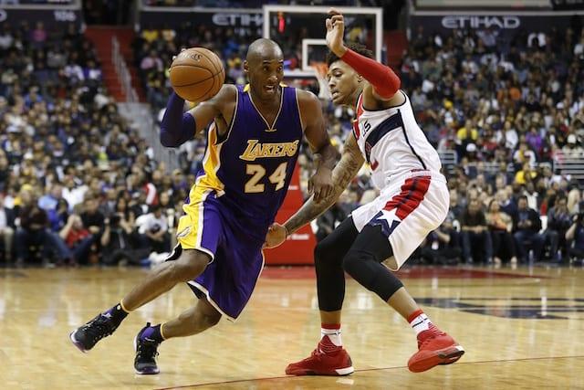 Game Recap: Kobe Bryant's Fourth Quarter Heroics Lead Lakers Past Wizards