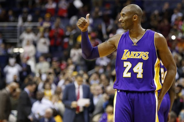 Game Recap: Kobe Bryant's Fourth Quarter Heroics Lead Lakers Past Wizards