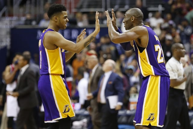 D'angelo Russell: Kobe Bryant Was 'coaching' Through Last Shot In Overtime