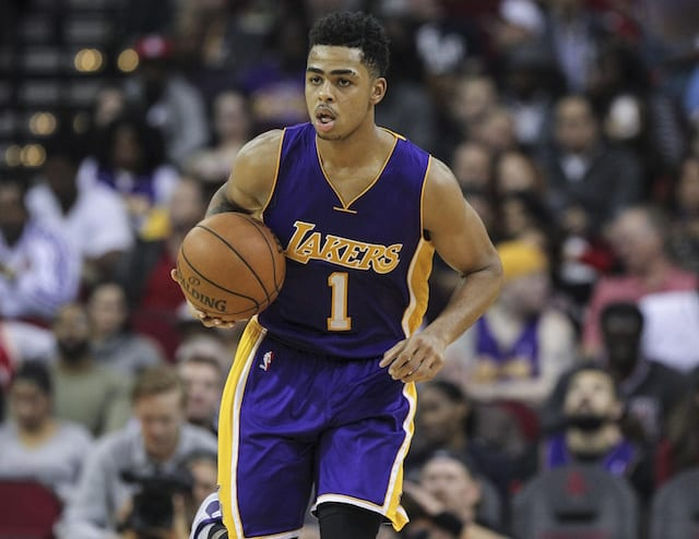 Lakers News: Jason Kidd Compliments D'angelo Russell's Play