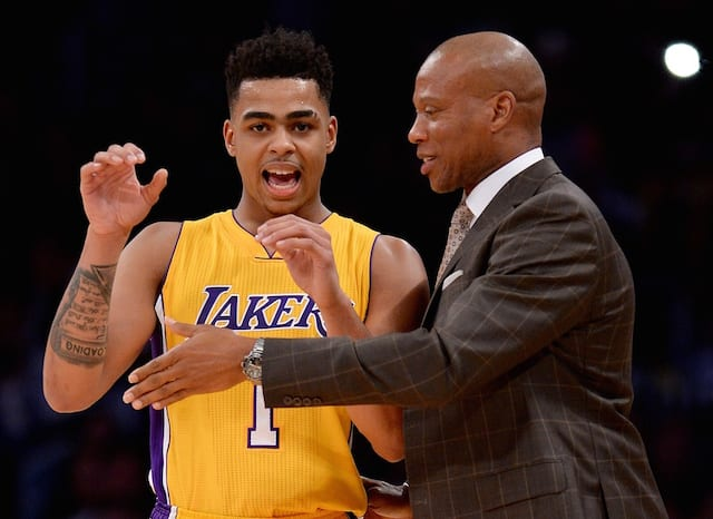 Lakers News: Byron Scott Defends D'angelo Russell Vs. Rockets