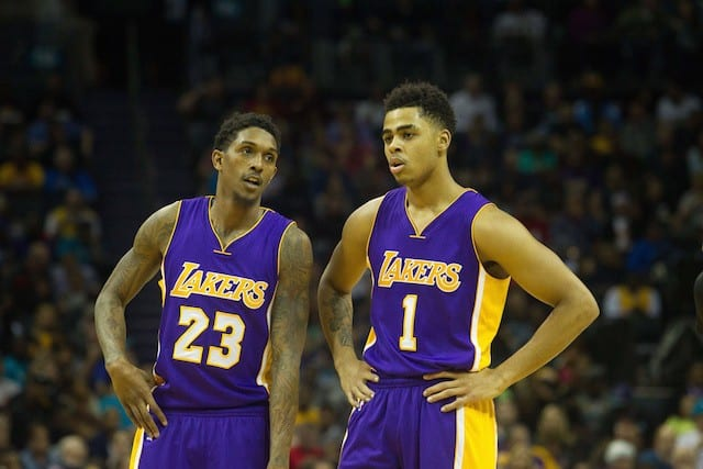 Lou Williams Trade Already Paying Off For Young Lakers - Lakers Nation 1db793c2f
