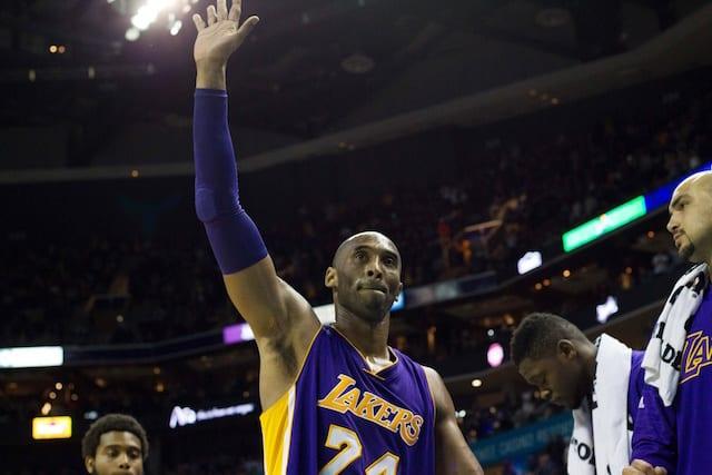 Lakers News: Kobe Bryant On Michael Jordan's Message During Hornets Tribute