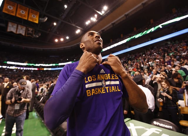Kobe Bryant: 'surreal Experience' Playing Final Game Against Celtics In Boston