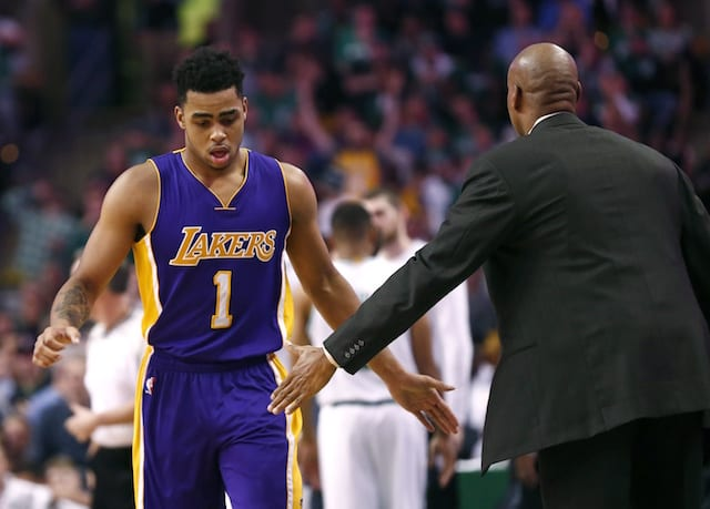 D'angelo Russell On Lakers-celtics: 'that Rivalry's Never Gonna Die'