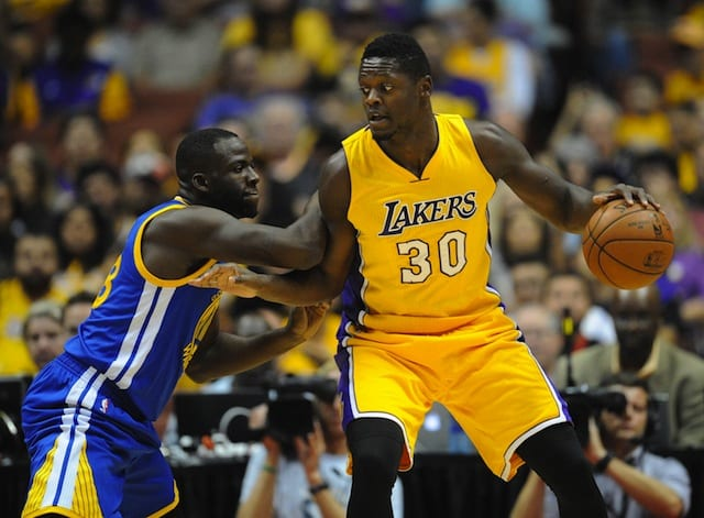 Draymond Green On Julius Randle: 'going To Be A Force To Be Reckoned With'