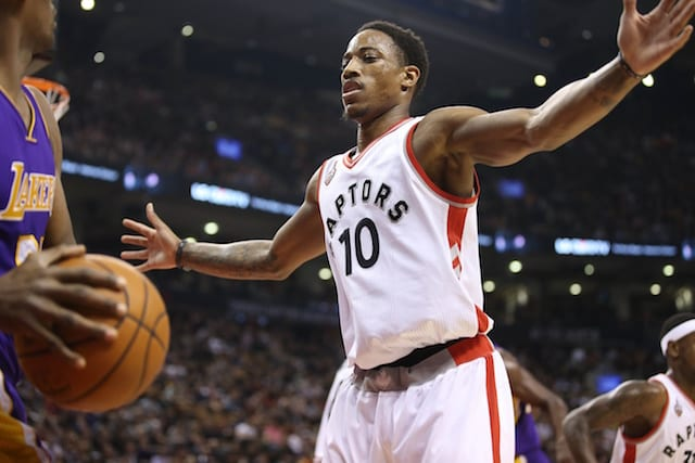 Lakers Rumors: L.a. Interested In Demar Derozan If He Opts Out