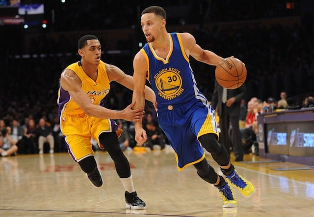 Jordan Clarkson Stephen Curry