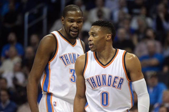 Lakers Rumors: Kevin Durant, Russell Westbrook Teaming Up In L.a. 'big Possibility'