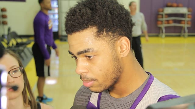 D'angelo Russell On Lakers Starting Role: 'i Want To Build Trust Now'