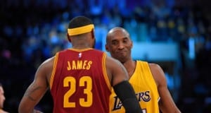 Kobe Bryant, LeBron James, Lakers, Cavaliers