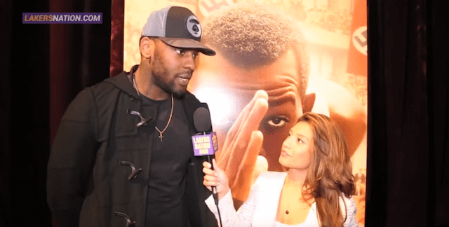 Tarik Black Hosts Movie Event For 500 Los Angeles Students And Athletes