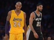 Kobe Bryant Tim Duncan