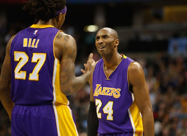 Jordan Hill: 'not A Lot Of People Can Handle' Kobe Bryant's Trash Talking