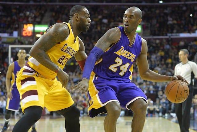 Kobe Bryant, LeBron James