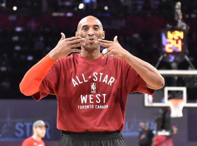 Lakers Video: Nba Honors Kobe Bryant With Tribute Before All-star Game