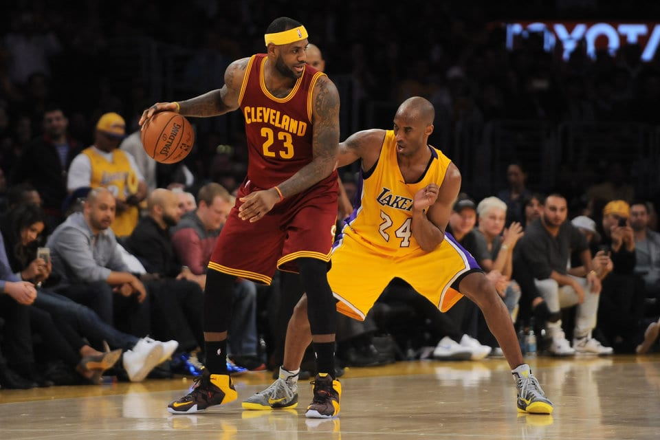 f5d9e591d3f Lakers Podcast  Kobe Bryant vs LeBron James