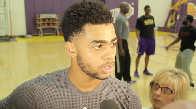 D'angelo Russell Downplays Struggles, Describes Progress As 'a Wave'