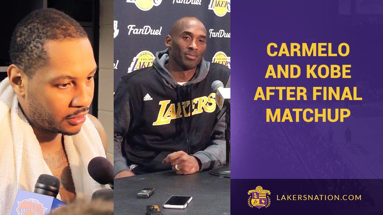 Los Angeles Lakers Vs. New York Knicks Postgame (videos)