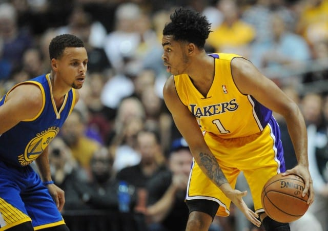 Lakers News: Stephen Curry Says D'angelo Russell Has 'total Skill Set'