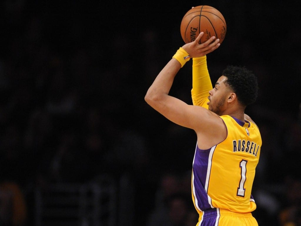 D'Angelo Russell Lakers