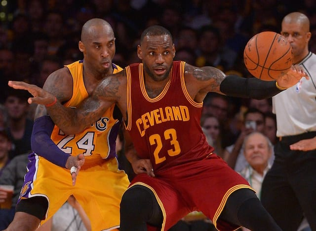 Lebron James Wishes He Could Play Kobe Bryant 'every Single Night'