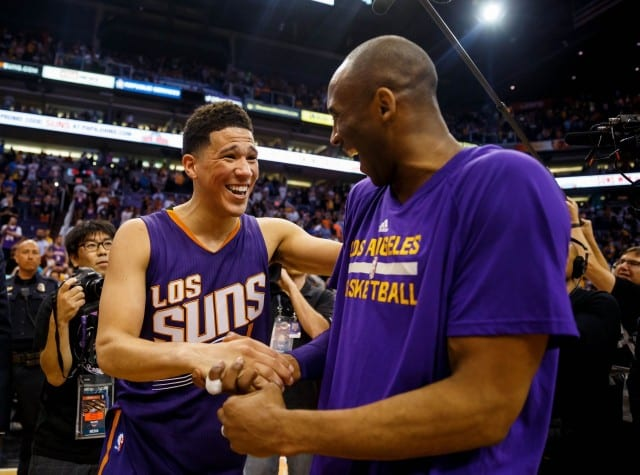 Kobe Bryant's Message To Devin Booker: 'be Legendary'