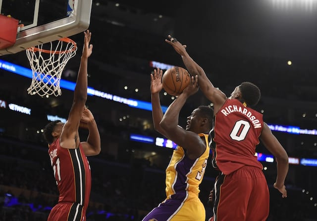 Game Recap: Julius Randle Jumper Lifts Lakers To Ot Victory Over Heat