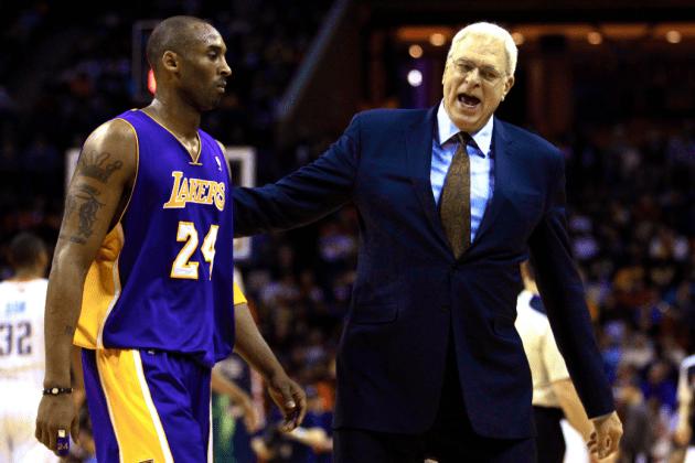 Phil Jackson, Kobe Bryant, Lakers