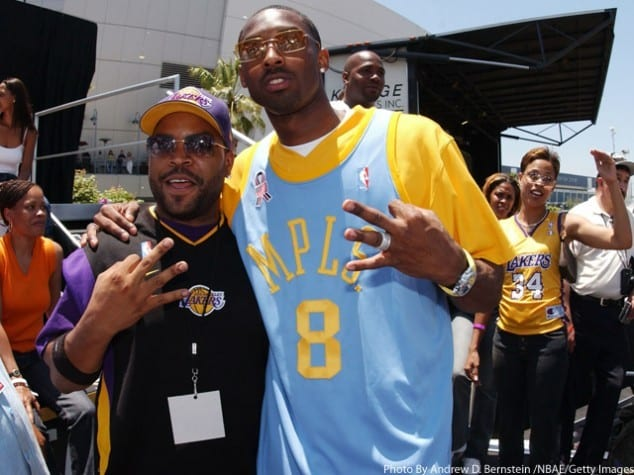 Video: Ice Cube Wants To Make A Movie About Lakers Legend Kobe Bryant