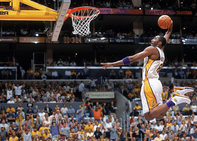 Kobe bryants top 10 dunks lakers nation kobe dunk voltagebd Image collections
