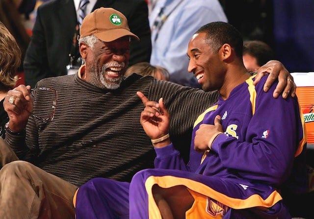 Kobe Bryant Bill Russell