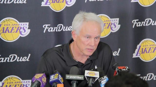 Mitch Kupchak On Nba Free Agency, Coaching Staff, Draft, Young Core (videos)
