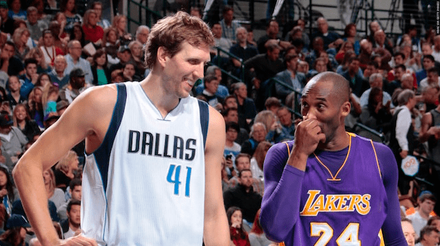 Dirk Nowitzki On Kobe Bryant: 'he's Our Michael Jordan For My Generation'