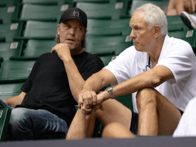 Mitch Kupchak Jim Buss Lakers