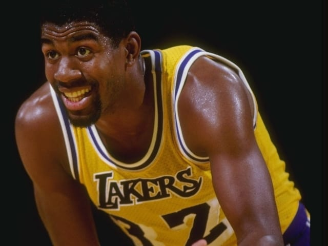 #1. Magic Johnson