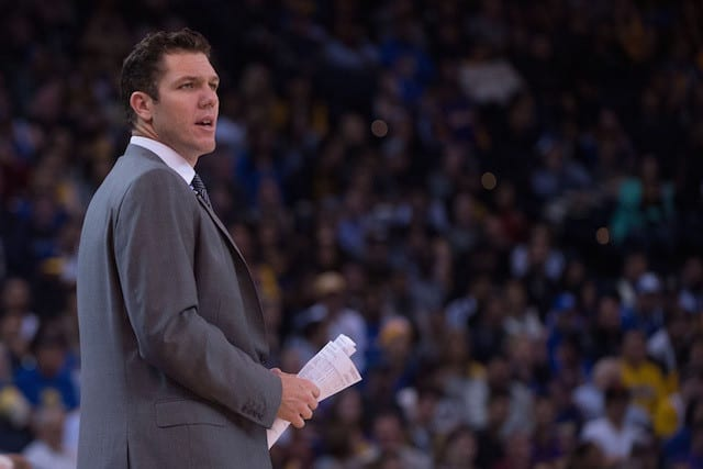 Mitch Kupchak On Luke Walton: 'one Of The Brightest Young Coaching Minds'