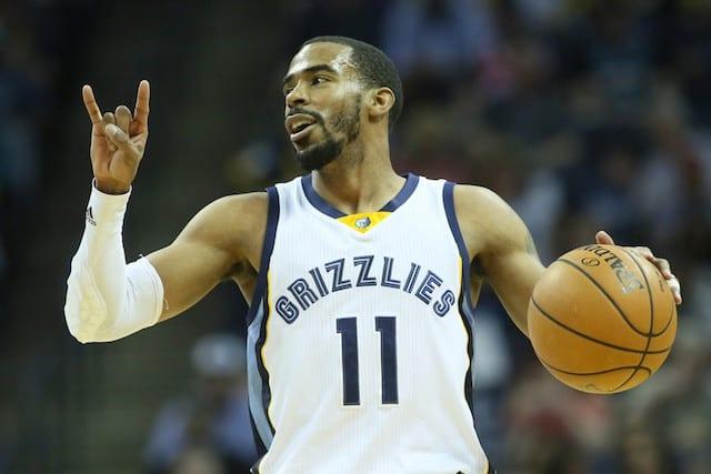 6. Mike Conley, Pg, Memphis Grizzlies