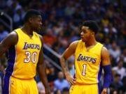 Julius Randle D'Angelo Russell Lakers